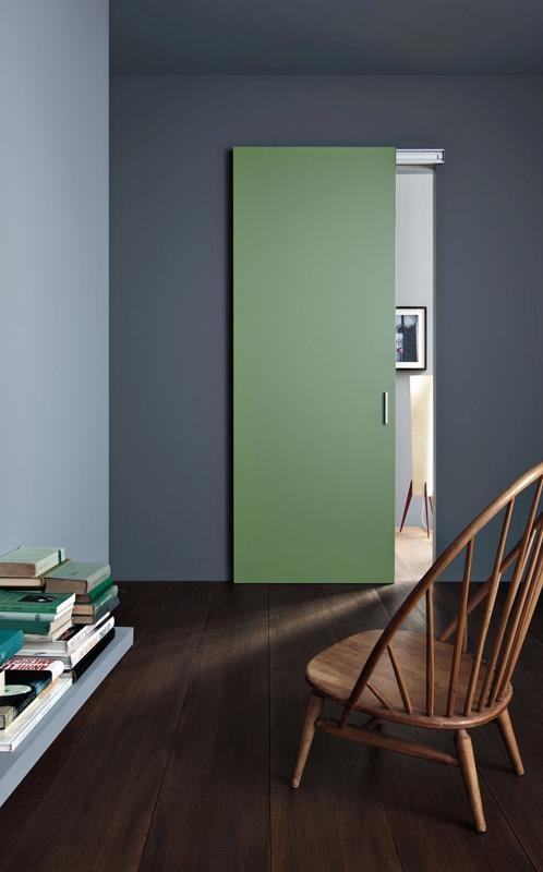 DRIVE - Laqué vert jade  #door  #porte