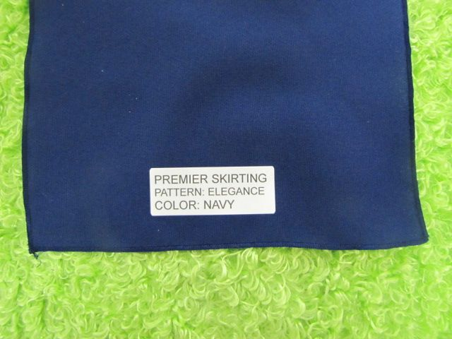 Fits 6 ft Table Floor Length - Trade Show Table Covers