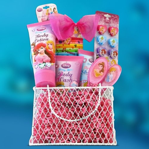 ($44.95) Perfect Birthday, Gift Baskets for Girls Disney Princess Toiletries Kids Gift Baskets  From Gift Basket 4 Kids   Order it here: http://astore.amazon.com/claireturn78-20/detail/B003XX2LKS/188-0376317-7100215
