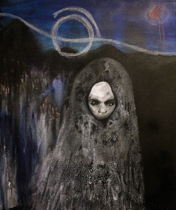 Gushtyuk Julia acrylic on canvas Inside