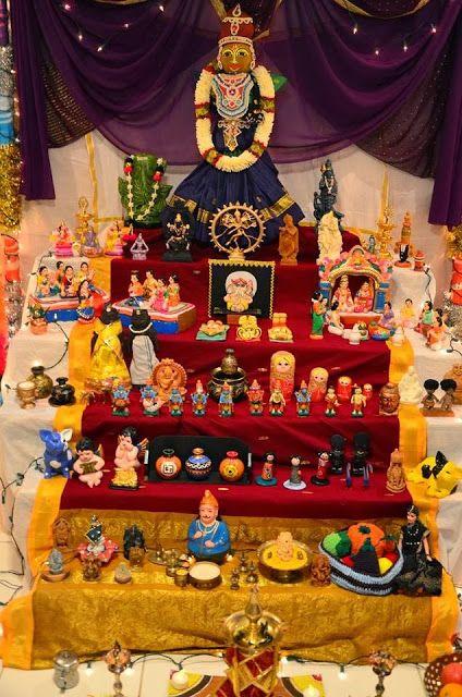navaratri doll display / Gombe habba