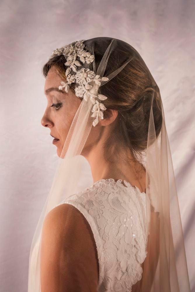 Juliette Cap Veil, Cathedral Wedding Veil, Lace Cathedral Veils, Cup Wedding Veil, Custom Made Veil, Custom Bridal Veils, READY TO SHIP by LTCoutureAtelier on Etsy