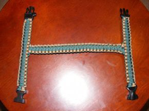 I THINK THIS WOULD BE A GREAT ADDITION TO THOSE LARGER PREP BAGS. A LONGER VERSION YOU CAN WRAP AROUND YOUR CHEST LIKE A MESSANGER BACK AND A BACK PACK STYLE ONE. Paracord Grab Handles... the write up - Jeep Wrangler Forum.  Great DIY idea for cheap grab handles