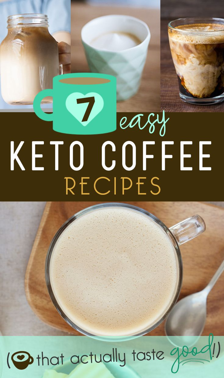 7 of the BEST Keto Coffee Recipes Low Carb & Sugar Free