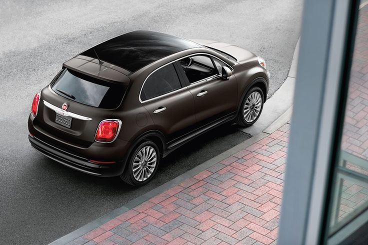 Atletyczny na zewnątrz, komfortowy wewnątrz. #Fiat #Fiat500X
