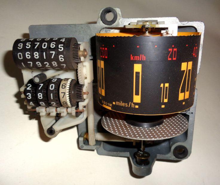 citroen bx speedo head for mk1 1980 39 s bx drum type mph pos. Black Bedroom Furniture Sets. Home Design Ideas