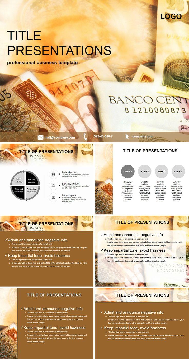 Bank assets PowerPoint Template