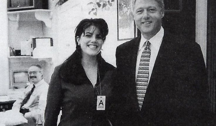 "MONICA LEWINSKY -  The intern with whom United States President Bill Clinton admitted to having had an ""inappropriate relationship"" while she worked at the White House in 1995 and 1996. The affair and its repercussions, which included the Clinton impeachment, became known as the Lewinsky scandal."