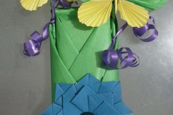 Bolsa de regalo origami