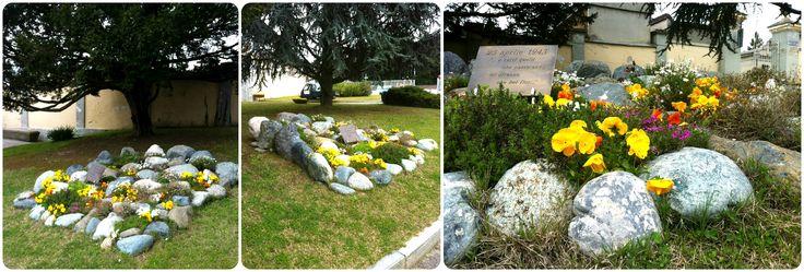 giardino roccioso commemorativo #agridea #gardenpink