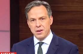 Jacob Tapper is an American journalist, cartoonist, and author. As of 2016, Tapper is the Chief Washington Correspondent for CNN, anchor of the CNN weekday television news show The Lead with Jake Tapper, and anchor of the CNN and CNN International Sunday morning affairs program State of the Union.
