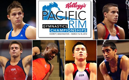 Olympic-caliber gymnasts are coming to Everett, WA for the Pacific Rim Gymnastics Championships on March 16-18, 2012.