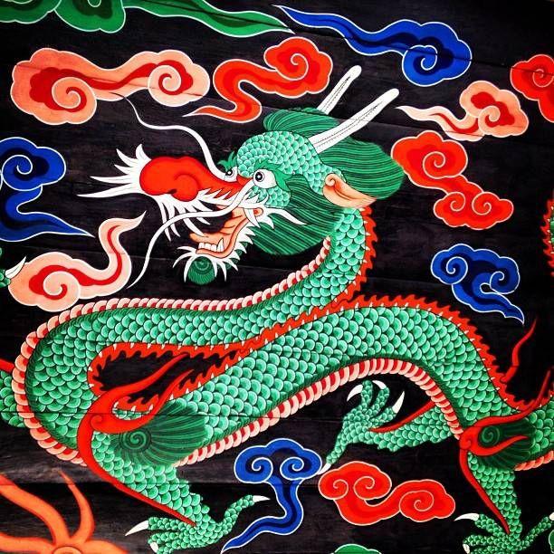 언제 봐도 아름다운 한국의 단청... 울긋불긋 그 느낌이 좋다 #Korea #Seoul #South #Gate #Dragon #Painting #Dancheong #Traditio…
