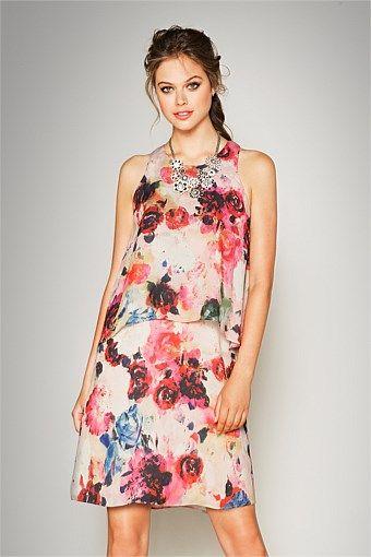 Dresses | Buy Women's Dresses Online - Emerge Peony Dress - EziBuy New Zealand