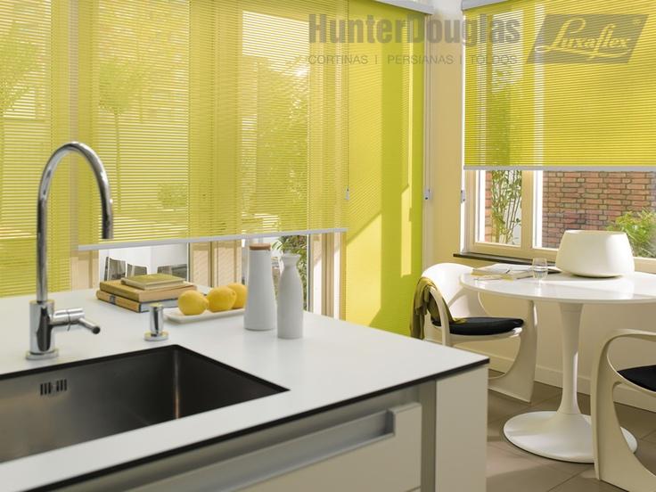 Cortinas Facette® - Producto Exclusivo HunterDouglas Luxaflex®