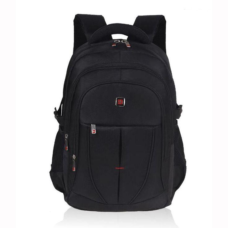 $35.70 (Buy here: https://alitems.com/g/1e8d114494ebda23ff8b16525dc3e8/?i=5&ulp=https%3A%2F%2Fwww.aliexpress.com%2Fitem%2FNylon-Man-Laptop-Backpack-Mochila-Masculina-School-Bag-For-Teenage-2016-New-Shoulder-Bag-Sport-Business%2F32717021580.html ) Nylon Man Laptop Backpack Mochila Masculina School Bag For Teenage 2016 New Shoulder Bag Business Black Daypacks Rucksack for just $35.70