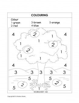 sample kindergarten worksheet coloring activity teaching coloring - Fun Worksheets For Children