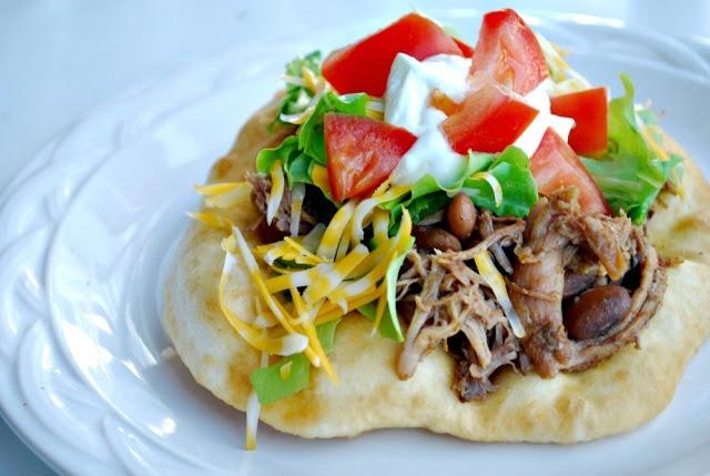 Copycat - Taco bell pork and bean chalupas