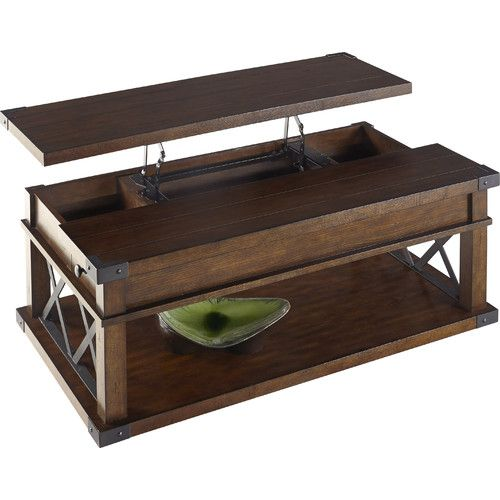 found it at wayfair fusillade coffee table with lift top
