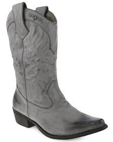 Bronx Women Westee Boots Grey
