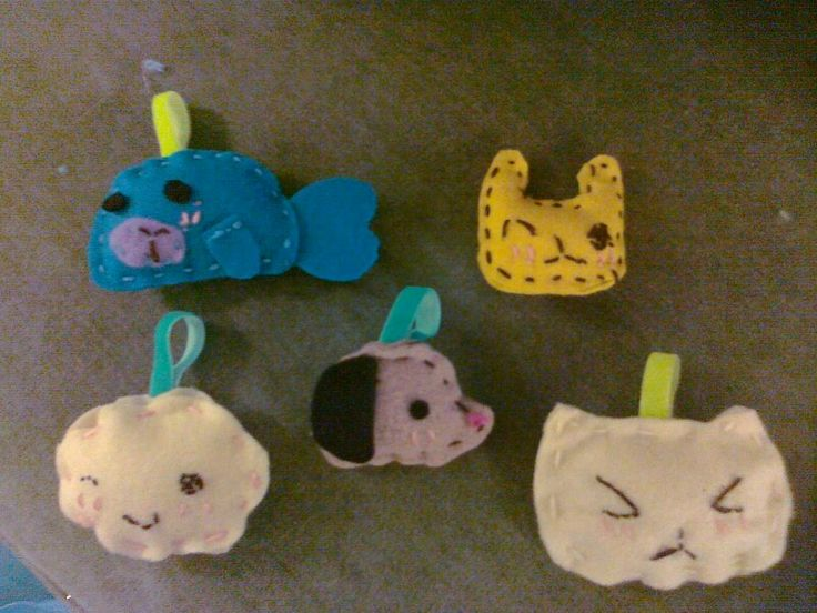 Plushies... And I did all of them...