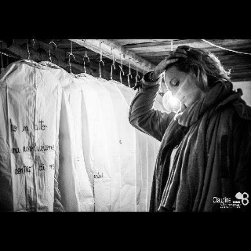 INSTALLAZIONE Gia M. - Direttrice artistica Paola Francesca Denti.  Presso Laboratorio Clo'eT - rappresentazione di Una cabina armadio con i pensieri Detti e non Detti Delle Donne.  # Lab # Cloet # # dominadonna bebeap # life # arte # instaart # # instacool morbido # politicamentescorretto # bianco # mondodonna # instagram # instalike # # instabergamo INSTALLAZIONE # bergamo # # bergamocentro evevseva # casa # 20like # foto # photooftheday…