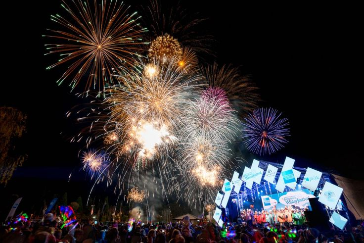 American Express Opening Party & Fireworks 2016