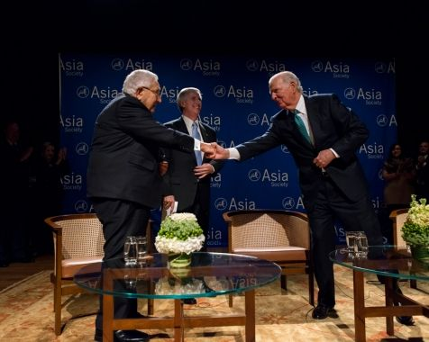 Henry Kissinger, James Baker Survey America's Challenges in China, North Korea, Middle East | Texas | Asia Society