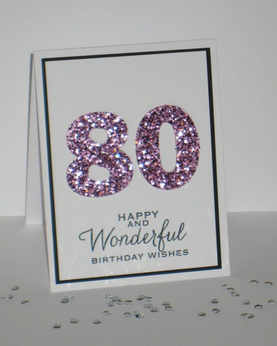 40 best 80th birthday cards images – 80th Birthday Cards