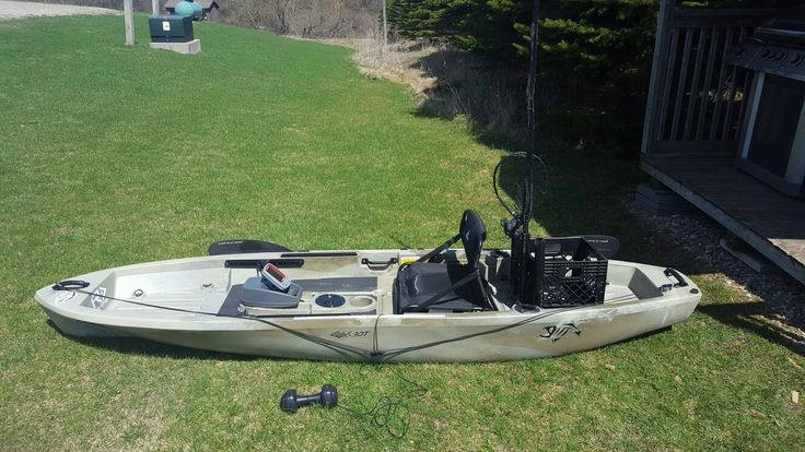 Asxend 10T kayak outfitted