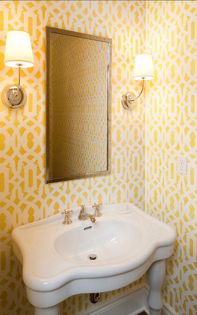 144 best Powder Rooms images on Pinterest | Bathrooms, Half ...