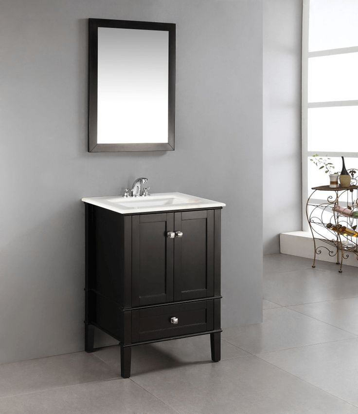 Bathroom Vanities Ideas Small Bathrooms: Best 25+ 24 Inch Bathroom Vanity Ideas On Pinterest