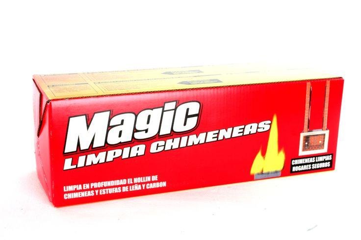 www.clubmagic.es Magic Limpiachimeneas es un potente tronco deshollinador . Usa Magic Limpiachimeneas al inicio de la temporada de chimeneas y estufas y también como mantenimiento .CHIMENEAS LIMPIAS, HOGARES SEGUROS
