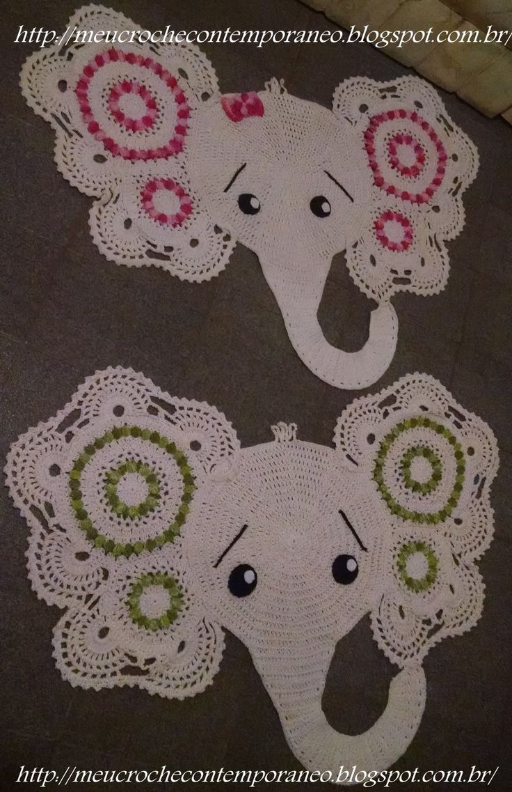 Crochet Elephant Rug : ... ideas about Knit Rug on Pinterest Crochet Rugs, Yarns and Rag Rugs