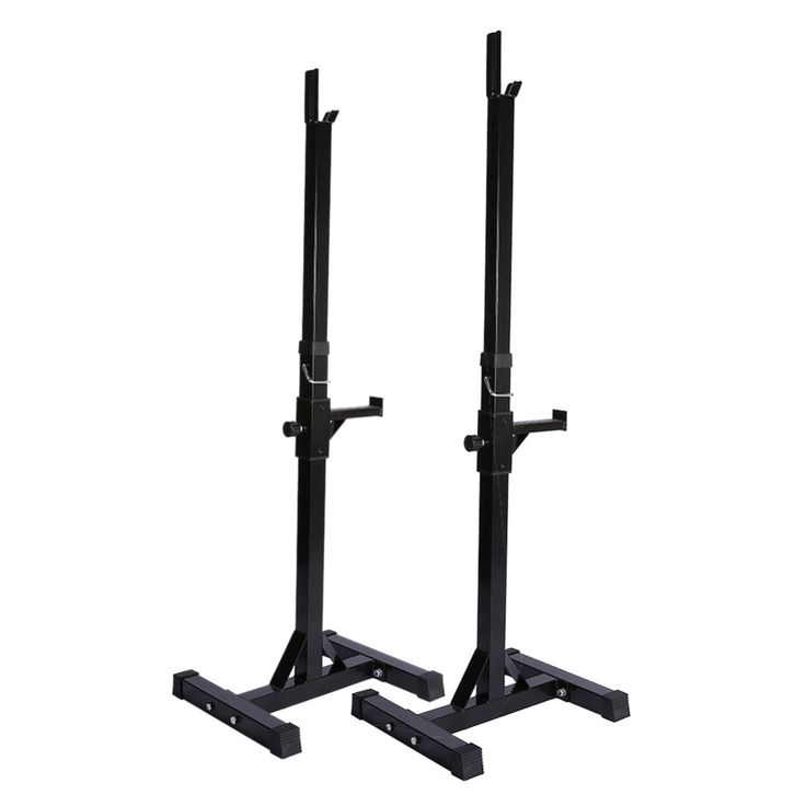 Gym Fitness Adjustable Squat Stand Barbell Rack Bench Press Weight Lifting Barbell Stand Squat Body Frame Fitness Equipment
