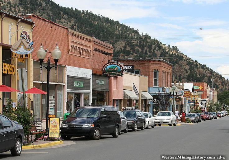 Idaho Springs Colorado--I was here in December. Love this mountain town!