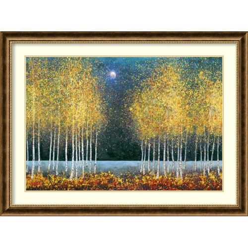 Found it at Wayfair - 'Blue Moon' by Melissa Graves-Brown Framed Art Print