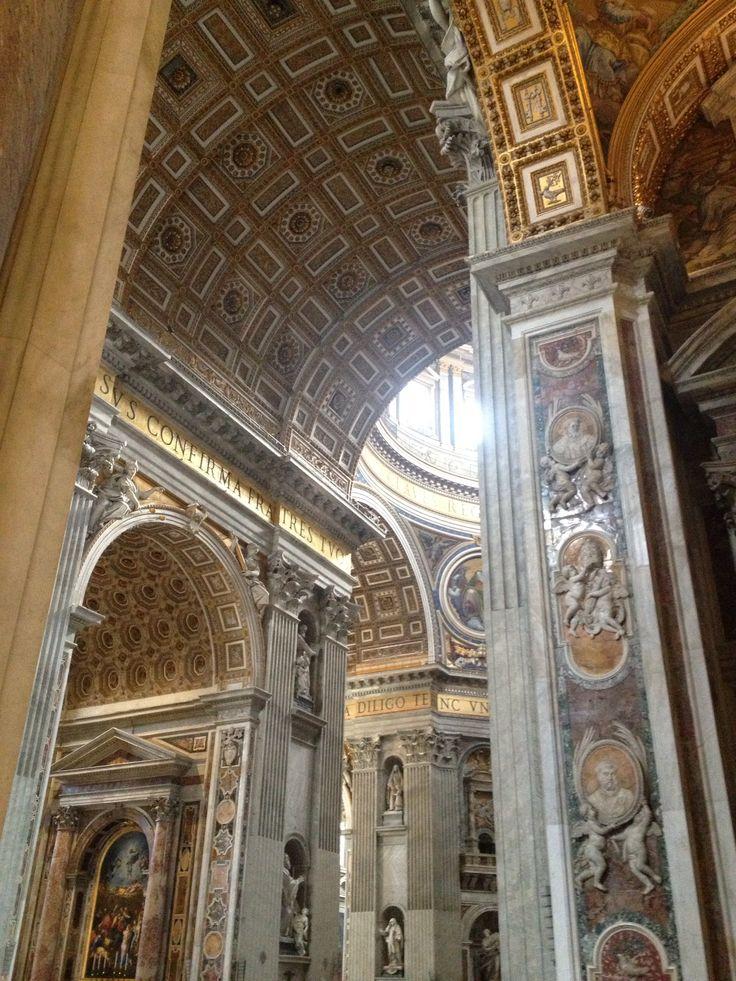 St Peterskyrkan, Rom, Italien