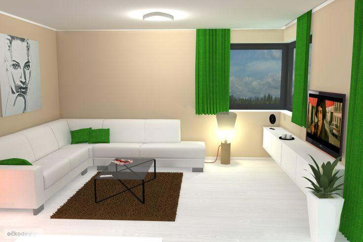 .... zavěšené skříňky obývací sestavy dodají obýváku vzdušnost