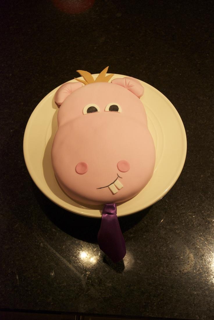 Boy hippo cake - 2012
