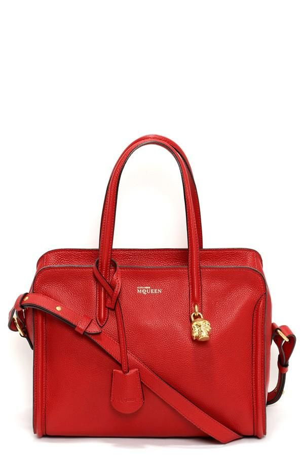 Red haute. Alexander McQueen Duffel Bag