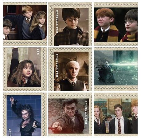 Nov. 2013 and the USPS has created Harry Potter themed stamps! have you gotten yours?