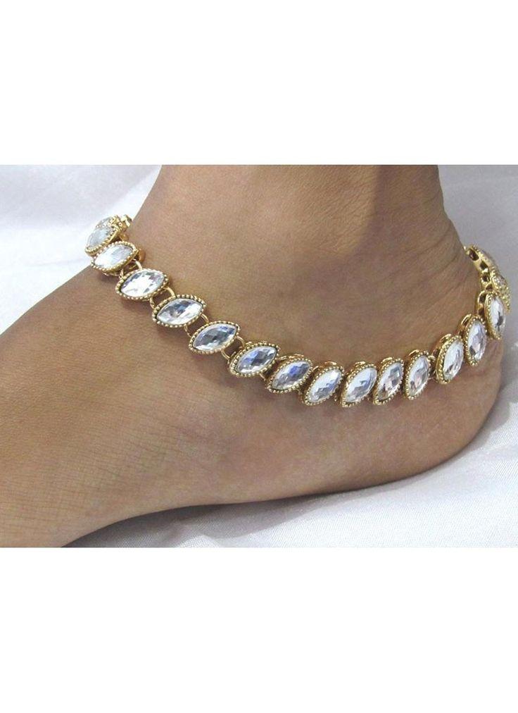 Shop Online White #Anklet @Chennaistore.com