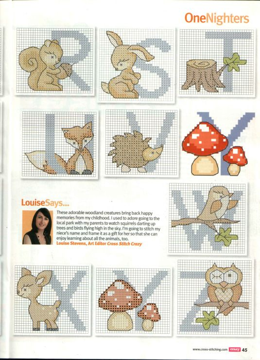 Gallery.ru / Photo # 31 - Cross Stitch Crazy 160 + application in February 2012 Free birthd - tymannost