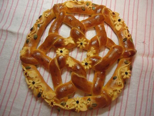PANE UNGHERESE DELLE FESTE/HUNGARIAN BREAD RING