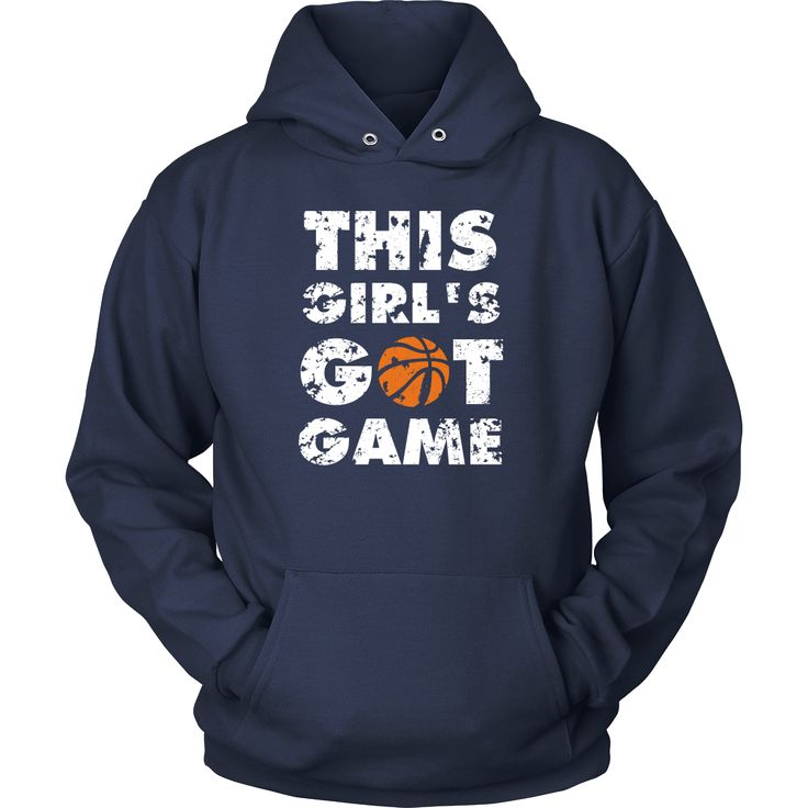 Show how proud Basketball NBA fan you are wearing This girl's got game Tee. Check more Basketball t-shirts & hoodies. Great designs sport clothing. If you want different color, style or have an idea f