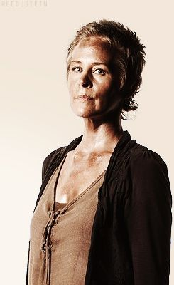 Carol Peletier, S4 I don't like what she did or that people want her with Daryl but man she is so different and tough now