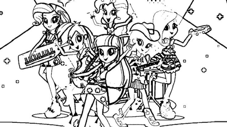 My Little Pony Coloring Pages Rainbow Rocks Check More At Prinzewilson Com Check Co In 2020 My Little Pony Coloring Coloring Pages For Girls Cartoon Coloring Pages