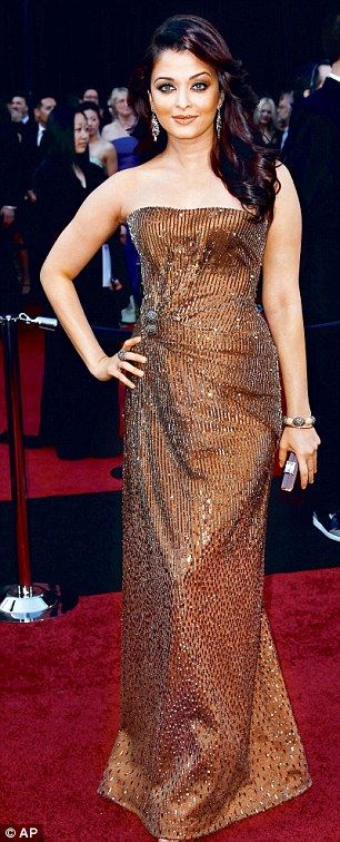 Aishwarya Rai at the Oscars last February