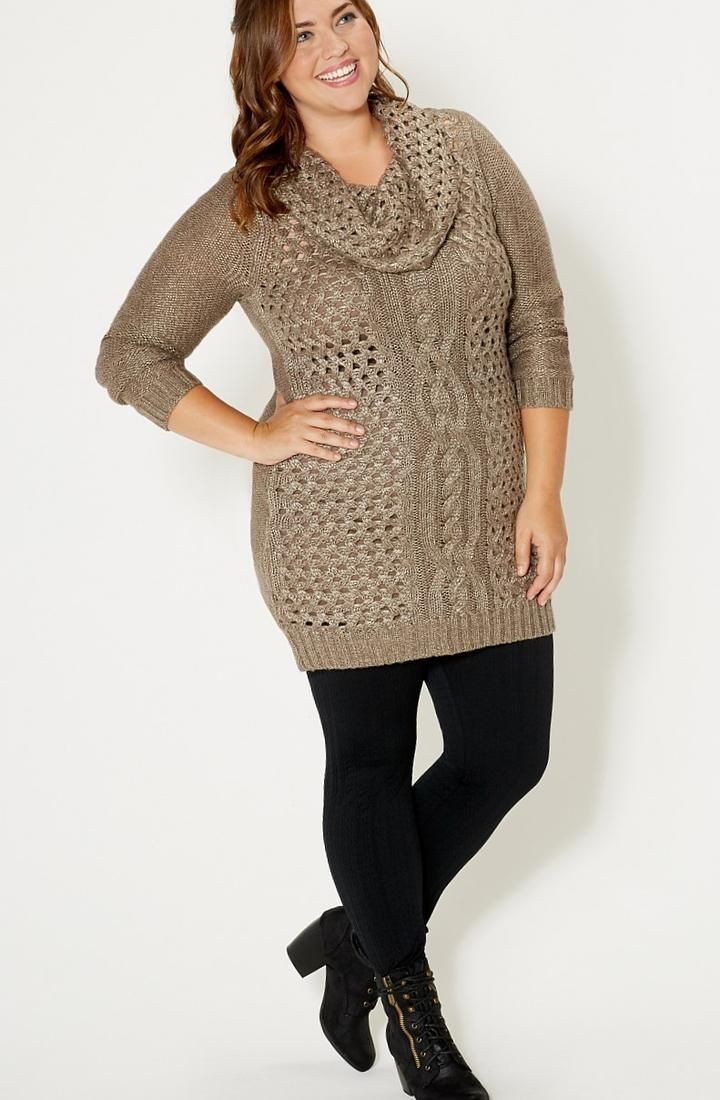 fe9f0356428 Image result for plus size sweater dress